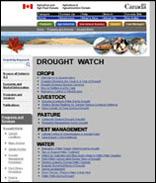 Drough watch - agric canada