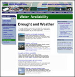 USDA  drought and weather website