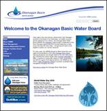 Okanagan basin water board website