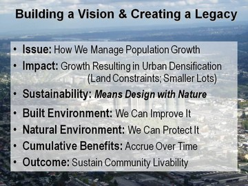 Surrey wbm forum -  build a vision and create a legacy