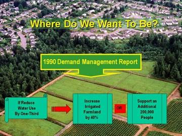 Penticton forum - 1990 demand management study
