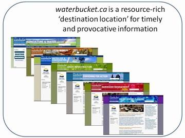 Penticton forum - water bucket cois