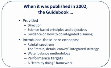 Penticton forum - about the guidebook