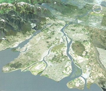 Penticton forum - sxd aerial photo