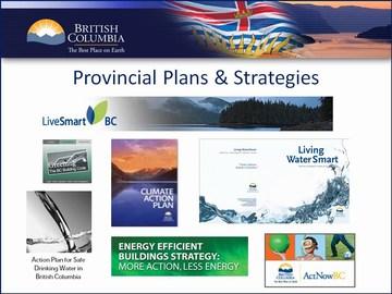 Penticton forum - provincial strategies