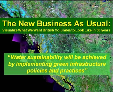 New business as usual - water sustainability thru green infrastructure