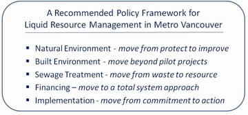CAVI informs metro van - policy framework
