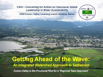 2009 comox valley seminar series - title slide
