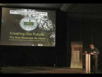 Eric bonham at 2009 resilient cities conference (360p)