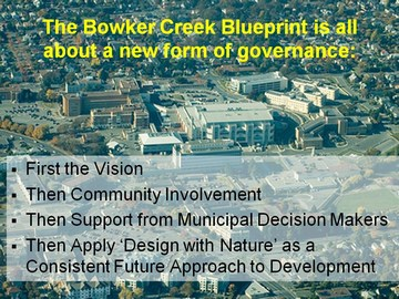 Bowker creek forum - new form of governance
