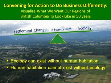 Settlement change in balance with ecology - jan 2010