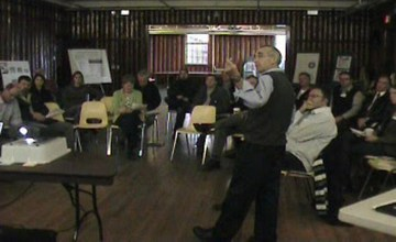 Derek richmond at the comox valley developers dialogue - dec 2010