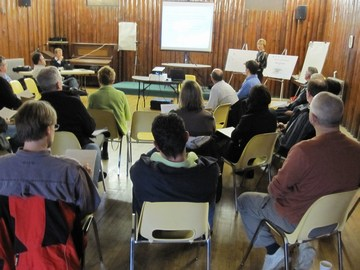 2010 comox valley developers dialogue - group scene