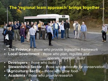 Regional team approach - march 2011 update