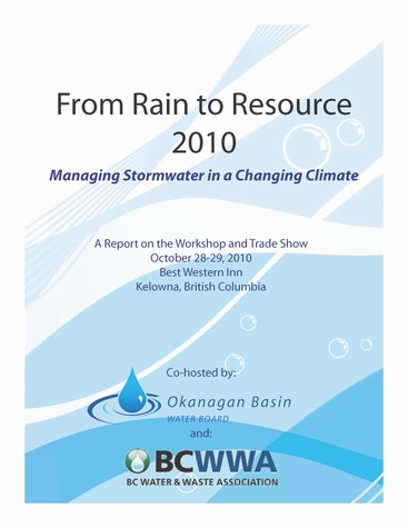 From rain to resource: report cover (475p)