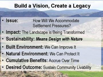 Build a vision, create a legacy
