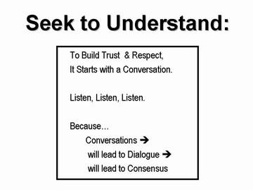 WIC workshop - seek to understand, sept 2006
