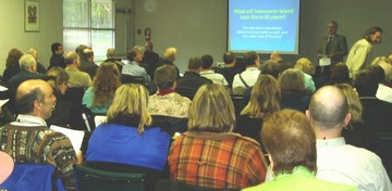 Audience, qualicum beach conference, april 2007