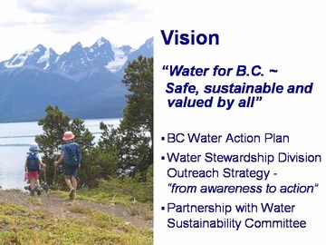 Slide 3- moe water vision,  2007 penticton conference