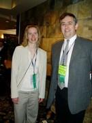 Lori henderson & mike tanner,  2007 penticton conference