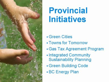 Cowichan4 - provincial initiatives