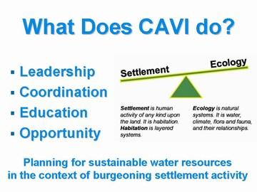 3-CAVI - what does cavi do?