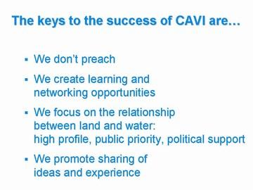 8-CAVI - keys to success