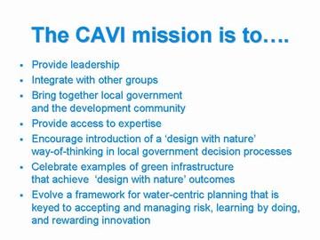 9-CAVI - the mission