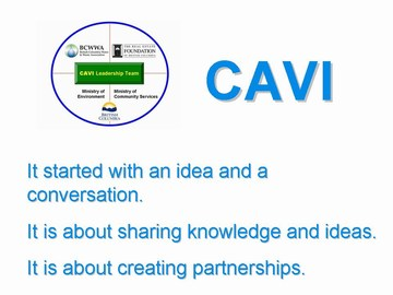 10-CAVI - it started with a conversation