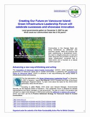 Green infrastructure leadership forum -  cover for showcasing story (240p)