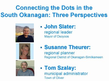 VI forum - south okanagan perspectives