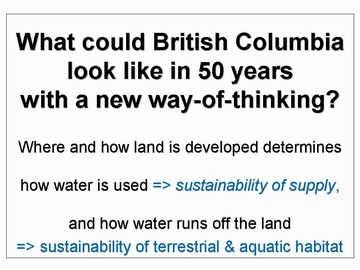 Green infrastructure -- new way-of-thinking in bc