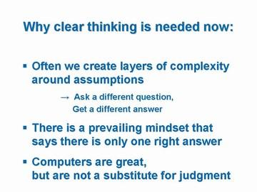 FBC5 - why clear thinking