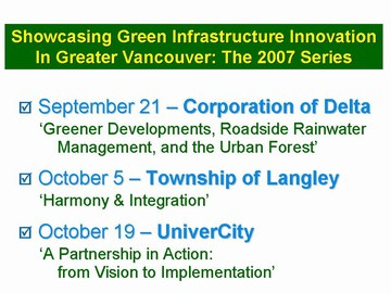 GIP - 2007 showcasing innovation  series