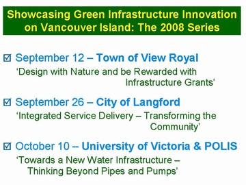 CAVI - 2008 showcasing series - event schedule