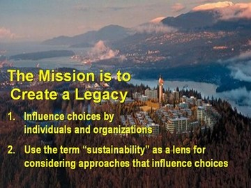 Green infrastructure partnership - create a legacy