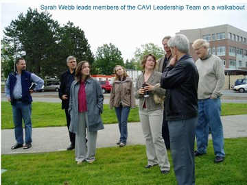 CAVI - showcasing innovation - uvic walkabout in june 2008