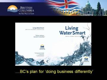 Courtenay seminar #2 - bcs water plan