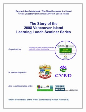 2008 learning lunch pilot -  report cover (360p)