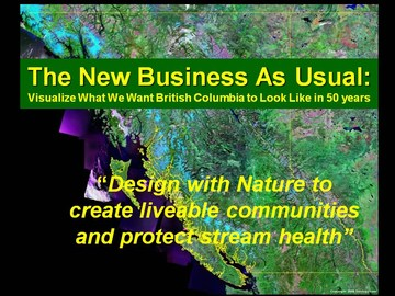 Design with nature to achieve liveable communities