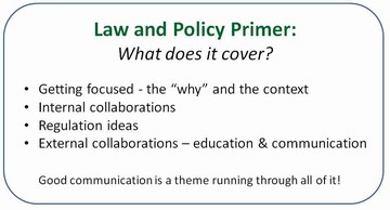Topsoil law & policy primer - presentation outline
