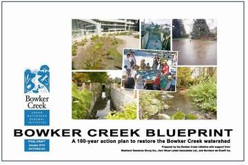 Bowker creek blueprint - report cover