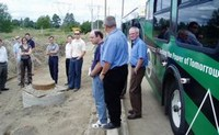 Showcasing innovation in surrey - inspecting the wal-mart site (200 pixels)