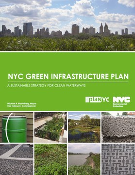 NYC green infrastructure plan - cover (360p) - october 2010