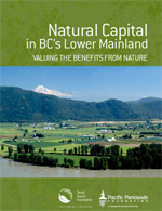 Natural capital in bc lower mainland (150p)