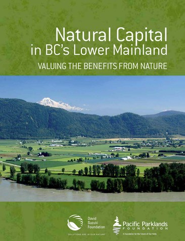 Natural capital in bc lower mainland - cover (475p)