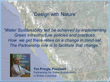 Design with nature - tim pringle quote