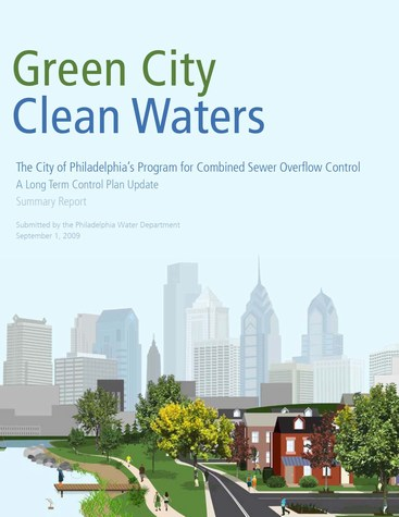 Philadelphia - green city, clean waters - cover (475p)