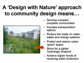 Design with nature - gvrd sustainability breakfast, dec 2006