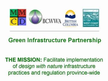 Green infrastructure partnership - gvrd sustainability breakfast, dec 2006